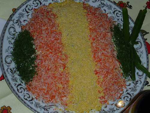 салат для очищения кишечника