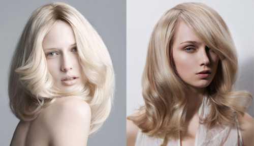 блондирование волос в домашних условиях